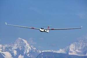C6 im Flug